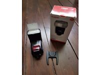 Mint condition Canon Speedlite 580EX Shoe Mount Flash, boxed, like new