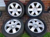 Citroen c4 alloy wheels 205/55/16 16 alloys vts vtr
