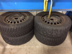 "15"" Volkswagen VW Rims and Tires"