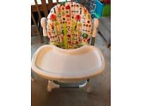 Mammas and Pappas Snax high chair