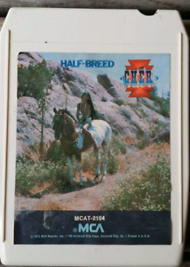 3 Eight track tapes CHER Half Breed PABLO CRUISE Place in the Su
