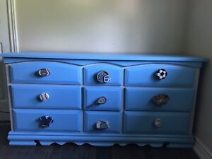 Matching toddler dresser and night stand