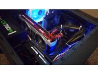 GAMING PC- FX-6300,8GB RAM,500GB HDD,HD 7870 2GB