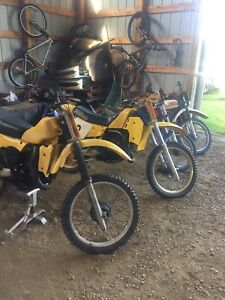 Looking to buy or trade guns for old dirtbikes