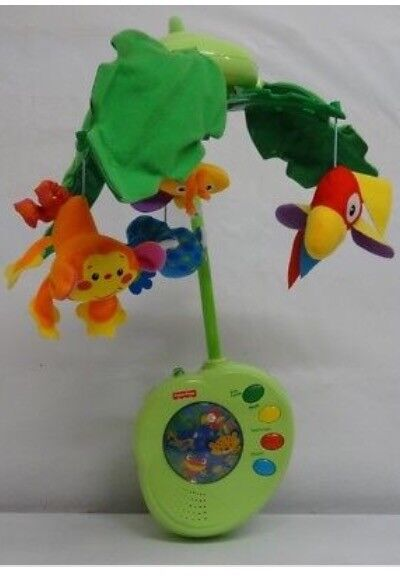 Fisher price rainforest peek a boo mobile with remote