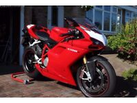 Ducati 1098 S 1098cc, Immaculate, Low mileage, FSH, Red, Motorbike, Motorcycle
