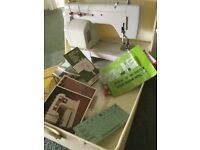 New Home 641 sewing machine hardly used