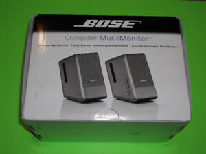 BOSE MUSICMONITOR MUSIC MONITOR COMPUTER SPEAKERS FOR APPLE IMAC