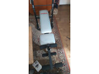 Weight Bench, York B500 foldable, flat or incline.