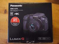 Panasonic Lumix G7 compact system camera