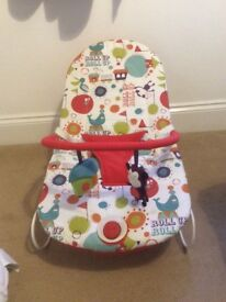 Mamas & Papas baby bouncing chair