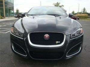 2014 Jaguar XF XFR SUPERCHARGED Sedan RED INTERIOR