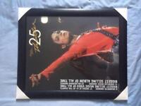 Michael Jackson picture frame