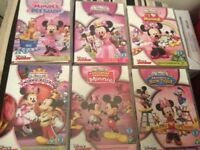 Mickey Mouse clubhouse Minnie dvds