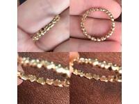 Pandora full 14ct gold heart ring (Discontinued)