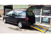 2009 VW Sharan AUTOMATIC Diesel Wheelchair Disabled Accessible Vehicle