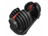 BRAND NEW** 24kg FXR Sports Fully Adjustable Dumbbell