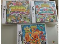 MOSHI MONSTERS ~ SUPER COLLECTION X 3 ~ NINTENDO 3DS ~ MOSHI MONSTERS ~