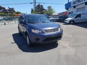 2009 Mitsubishi Outlander ES 4WD; Local vehicle!
