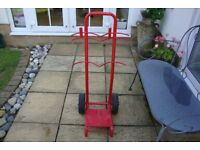 fire extinguisher trolley/stand mobile fire point