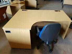 Large office/ home desk with chair (no 2)