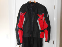 IXS Motorcycle Jacket and Trousers set Goretex