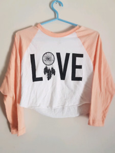 Love crop top