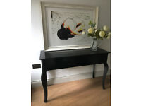 Table CONSOLE Table Black Designer