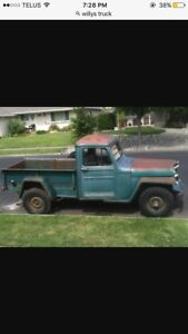Willys pick- up looking