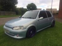 2003 PEUGEOT 106 GTI RARE LITTLE CARS THESE NOW CALL ME NO MESSERS