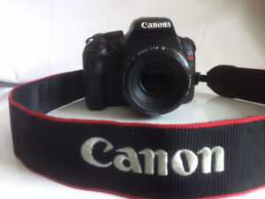 Canon Rebel EOS T2i w/ 50mm Lens & Battery Grip - $550 OBO