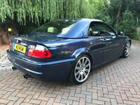 2004 Bmw e46 m3 convertible 3.2 fsh fully loaded