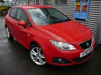 SEAT IBIZA 1.6 CR TDI SPORTRIDER 5d 103 BHP **ON AVERAGE 65MP (red) 2011