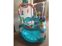 2 in 1 lights & sea activity gym and saucer
