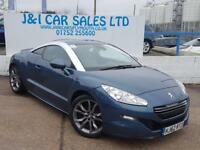 PEUGEOT RCZ 1.6 THP GT 2d 156 BHP A LOW PRICE SPORTS COUPE (blue) 2013