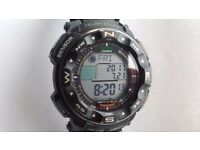 Mens Casio Protrek PRW-2500 Radio Controlled Solar Digital Watch