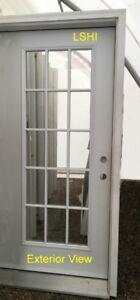 "Entry Door w/ Full Frame (22""X 64""- 15 Lite D/L) – Clearance"