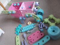 Elc build it and car transporter