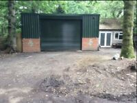 SELF CONTAINED UNIT IDEAL AS WORKSHOP/STORAGE IN PULBOROUGH