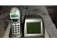 BT Freestyle 2000 Handset and Alarmclock Digital.