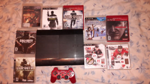 Ps3 + games n controller