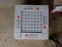 Ceracasa ceramica Tiles - large blue mosaic effect BRAND NEW in box