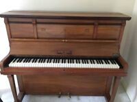 cheap second hand piano, good for beginners