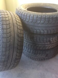 215/65/R15 Michelin X-ice Tires
