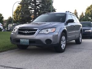 2008 Outback all wheel drive! Need to sell!