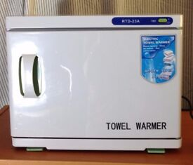 Beauty towel warmer