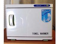 Beauty towel warmer
