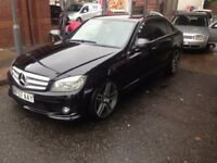 Mercedes Benz c220 CDI SPORT C CLASS AUTO AMG PACK SALE OR SWAP