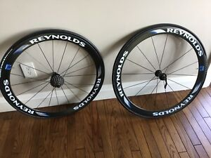 Reynolds Carbon Race Wheels for competitive road racing cyclists