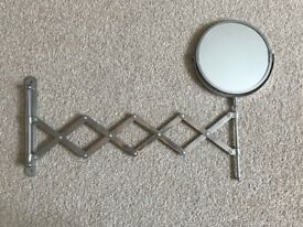 Extendable DUAL sided Shaving Mirror just £10.00